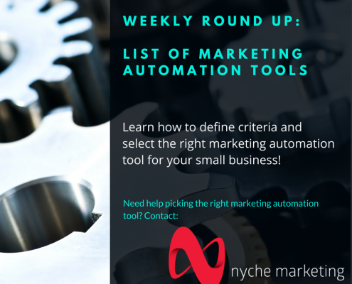 nyche-marketing-weekly-roundup-marketing-automation-tools