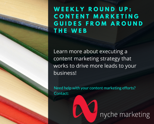 Weekly Round Up Content Marketing Guides