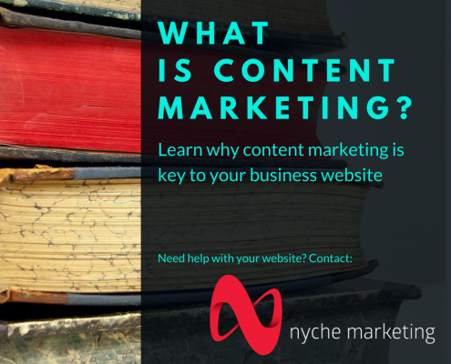 What is Content Marketing - nyche marketing - Edmonton