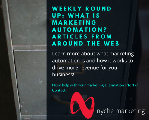 Weekly Round Up- What is Marketing Automation-